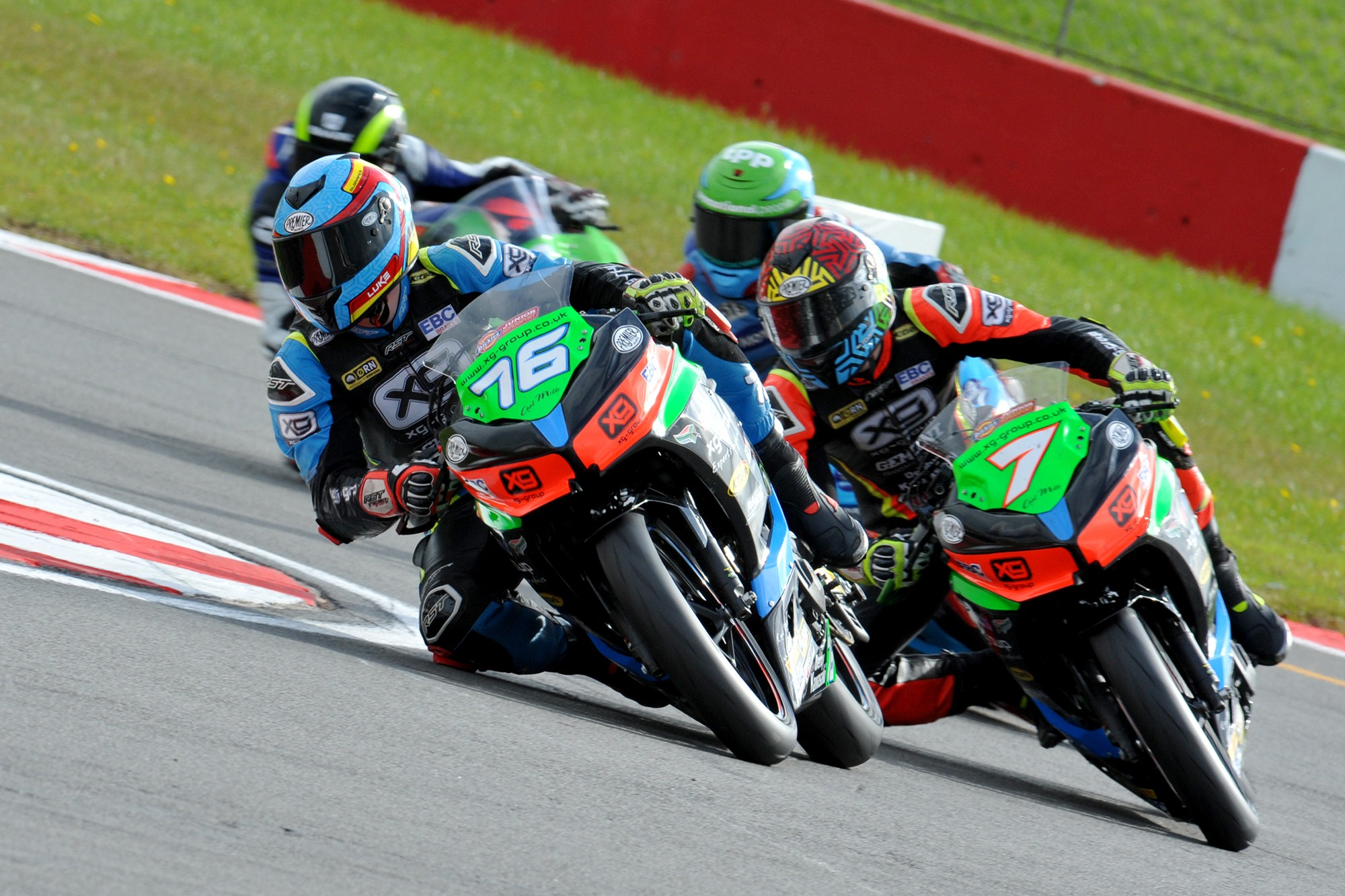 Luke Verwey qualifies in pole position at Donington BSB